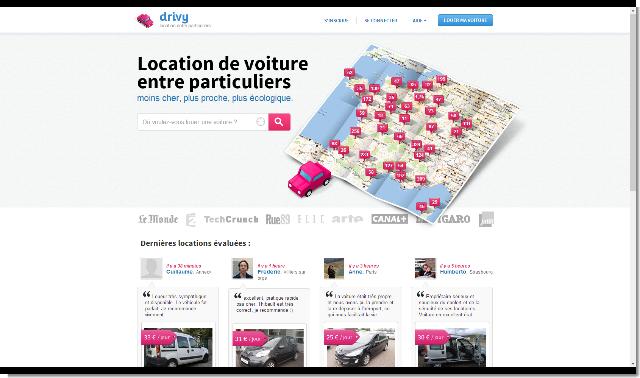 Drivy - Location Voiture Particulier - N 1 en France