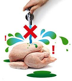 Campagne FSA Ne lavez pas votre poulet