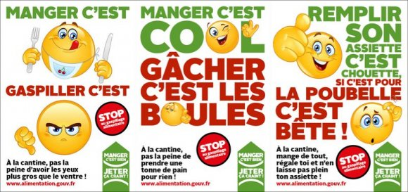 Gapillage alimentaire cantine