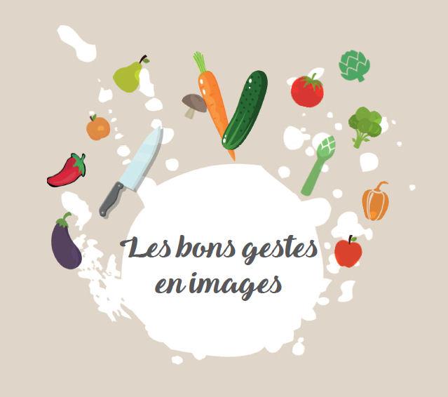 Guide Les bons gestes Eplucher decouper APRIFEL CLCV 2016