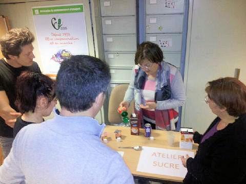 Journée mondiale du consommateur Atelier sucre Montpellier