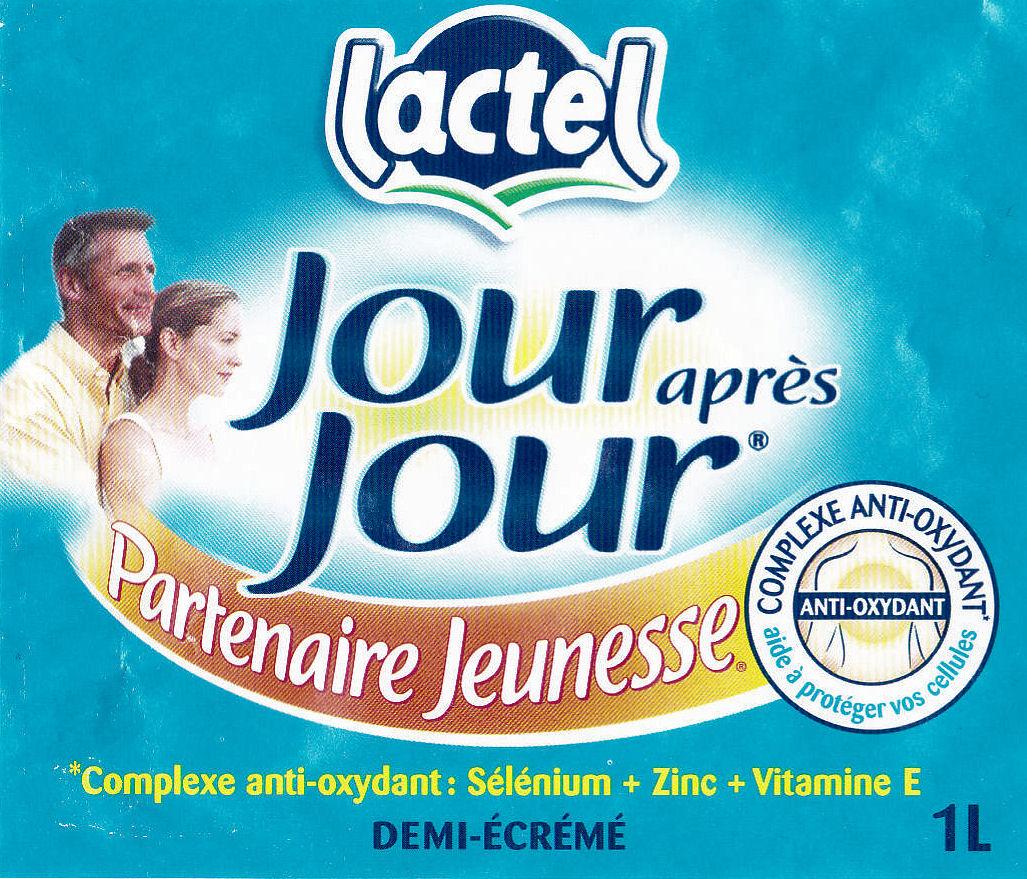 étiquette Lactel jour après jour