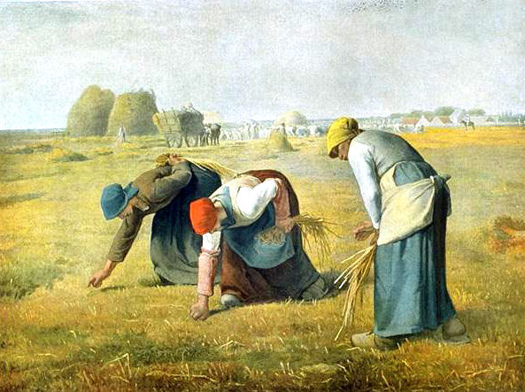 Les glaneuses  de Millet
