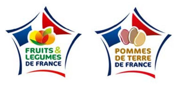 Logos fruits et legumes de france