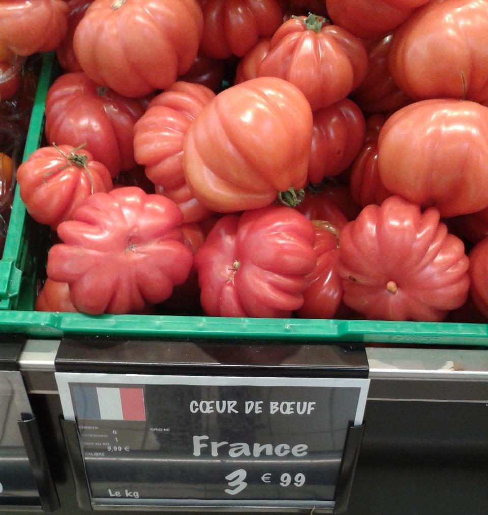 Tomates cotelees