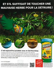 Publicité Roundup élu produit de l'année