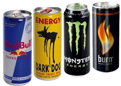 des boissons energisantes
