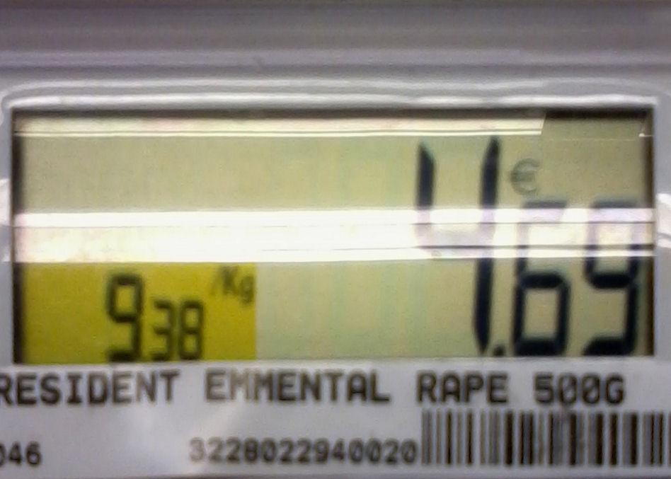 prix rape president 500g