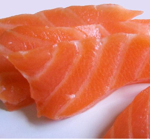 saumon cru