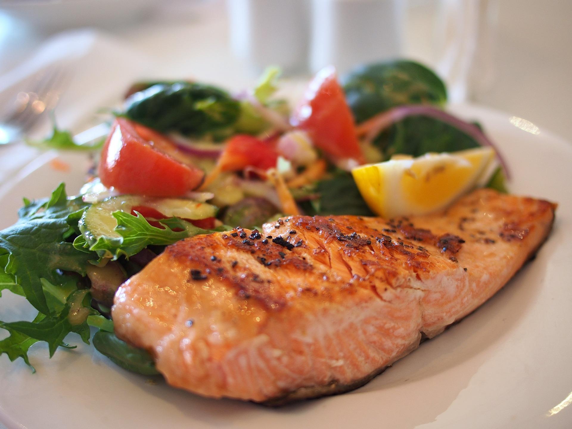 saumon plat legumes clcv