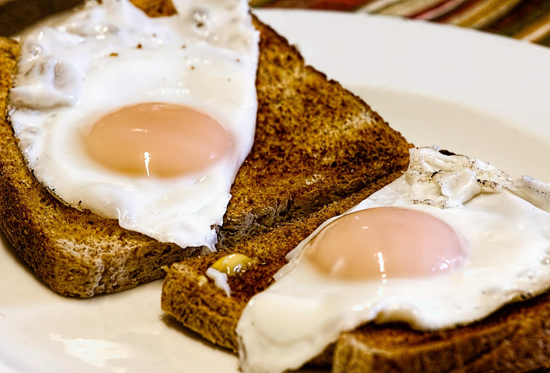 toast pain oeuf acrylamide clcv
