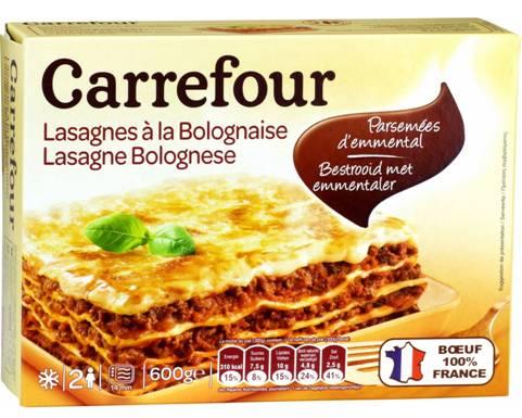 lasagnes carrefour